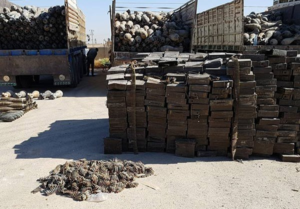Photo of Photos- Largest-Ever ISIL Weapons Cache Found by Syrian Army