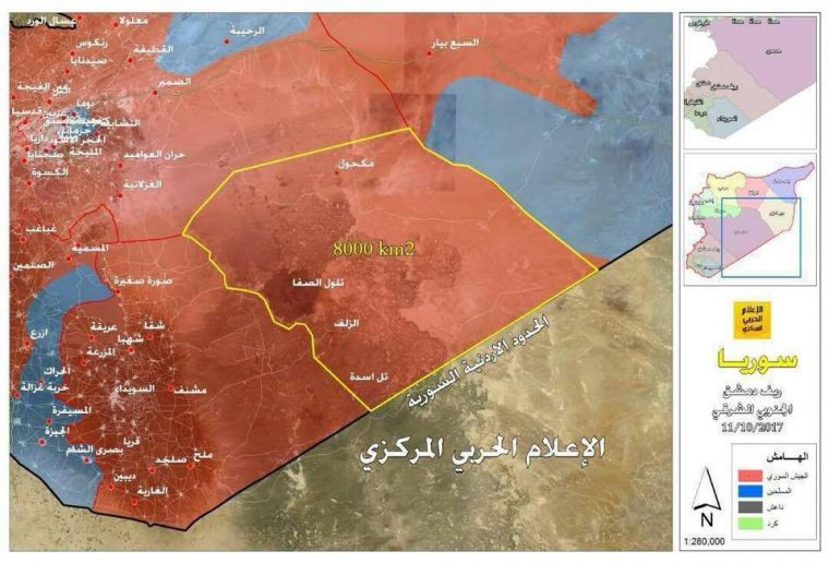Photo of Syrian Army seals entire Damascus-Jordanian border: map