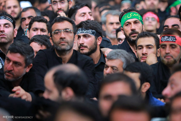 Photo of 6th night of mourning at Imam Khomeini Husseinieh