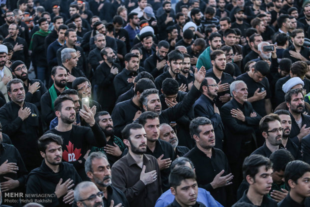 Photo of PHOTOS: Mourners of Imam Hossein gather in Qom