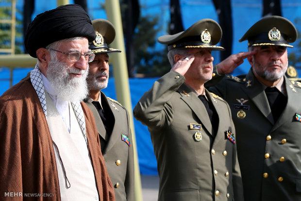 Photo of PHOTOS: Leader of Islamic Ummah and Oppressed Imam Sayyed Ali Khamenei attends Army Cadets Graduation ceremony
