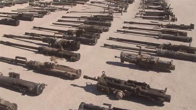 Photo of Syrian forces recover Israeli, NATO-made arms from Daesh hideouts