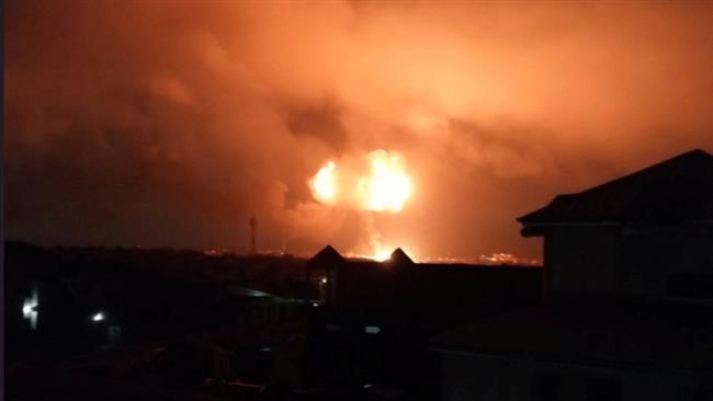 Photo of Huge gas blast rocks Ghana's capital, leaves casualties