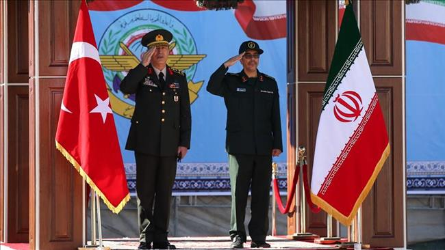 Photo of Turkey's top military chief in Iran