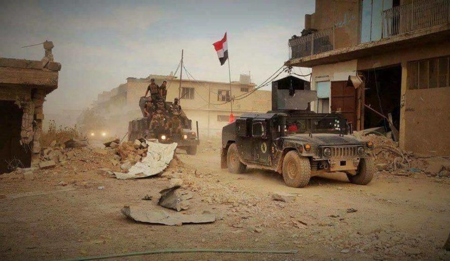 Photo of Iraqi forces score new advance south of Huwija