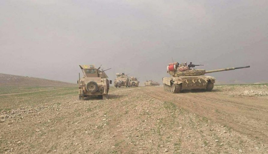 Photo of Iraqi forces capture Syrian border-crossing