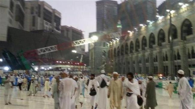 Photo of Zionist Saudi court acquits Binladin Group over deadly Mecca crane collapse