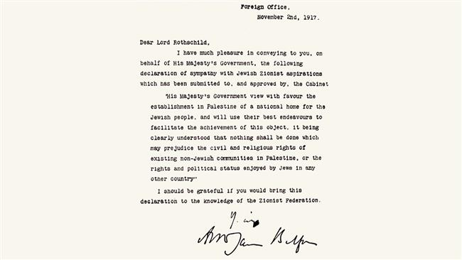 Photo of UK 'proud' of its role in establishing Israeli regime: Zionist British PM