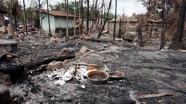 Photo of Nearly 300 Rohingya villages destroyed in Myanmar's Rakhine