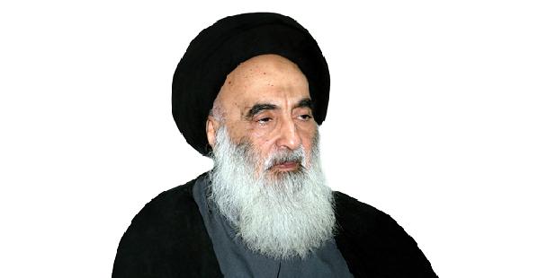 Photo of Ayatollah Sistani Hails Sacrifices of Iraqi Forces