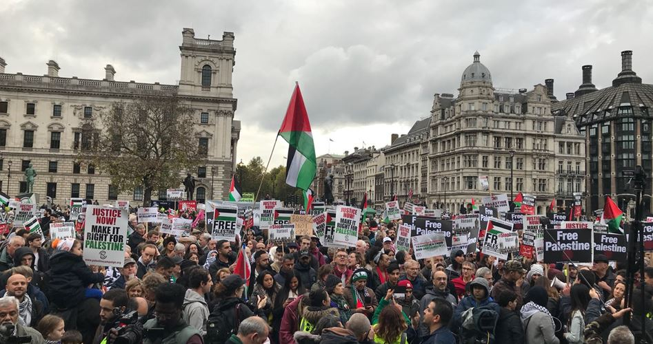 Photo of Thousands take to London streets over tragic upshots of Balfour pledge