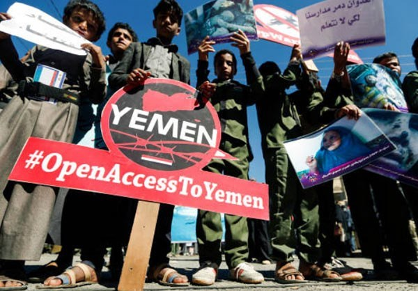 Photo of Photos- Yemeni Youngsters Mark Universal Children's Day with Anti-Saudi Protests