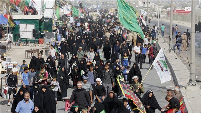 Photo of Millions Iranians flock to Karbala for Arba'een ceremonies