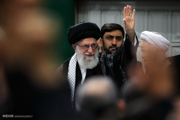 Photo of PHOTOS: Leader of Islamic Ummah and Oppressed Imam Khamenei attends Arbaeen mourning ceremony in Tehran