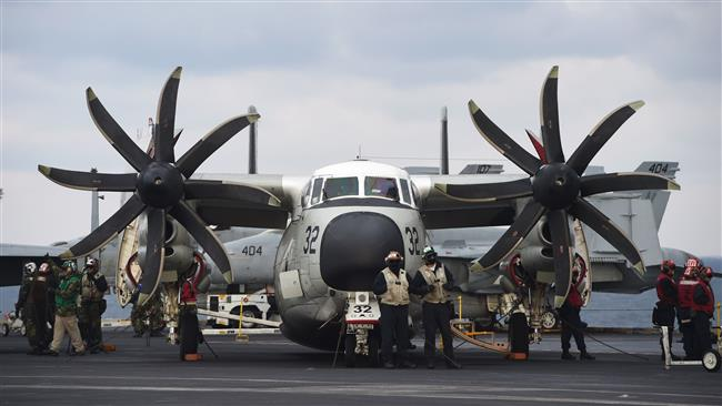 Photo of Great Satan US Navy aircraft with 11 aboard crashes in Philippine Sea