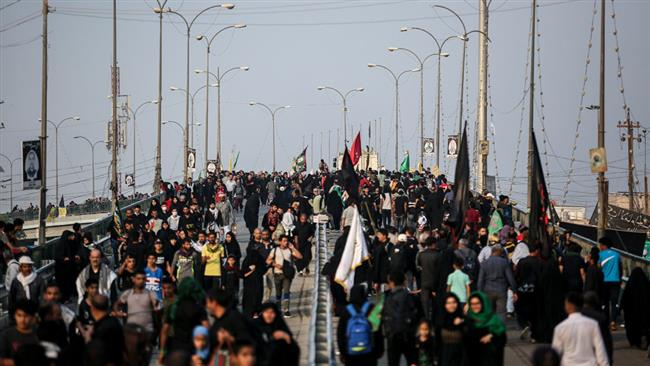 Photo of Millions of Muslims honor 40 days after martyrdom anniversary of 3rd Ahlul Bayt Imam