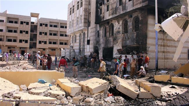 Photo of Daesh bombing leaves nearly dozen dead in Yemen's Aden