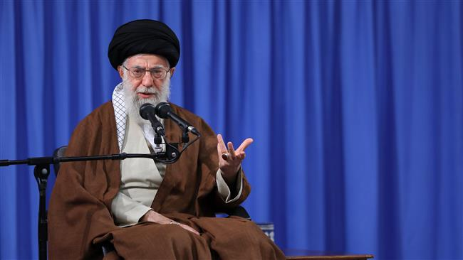 Photo of Leader of Islamic Ummah Imam Sayyed Ali Khamenei decries Trump's 'foolish' comments against Iranian nation