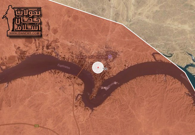 Photo of ISIS eliminated from western Iraq: map