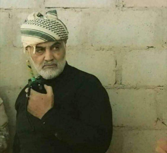 Photo of Legendary IRGC commander filmed inside of liberated Albukamal