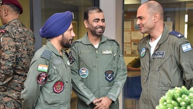 Photo of Terrorist israel, its puppet India launch 'largest-ever' aerial drill