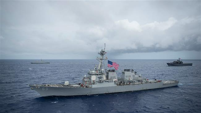 Photo of US warship collides with boat in Japanese waters