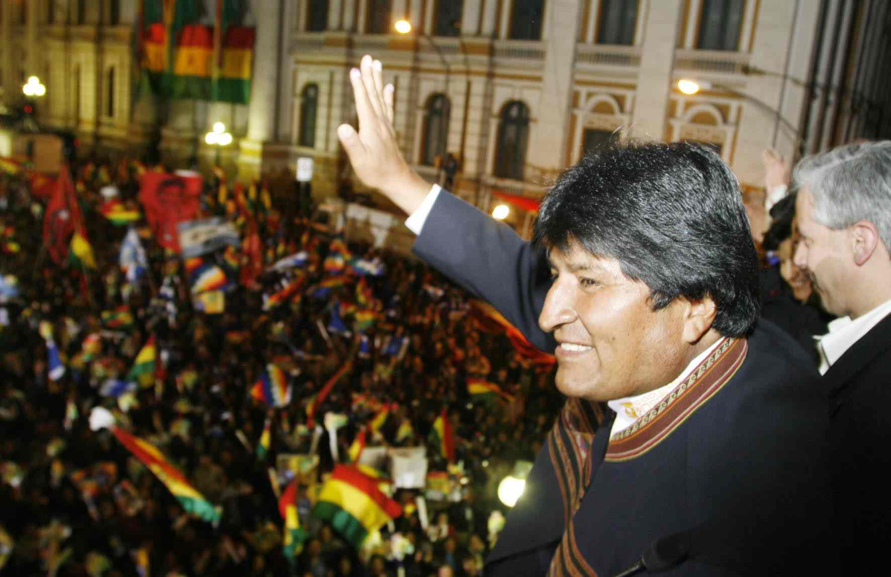 Photo of Bolivians come out to support Morales' new bid to extend term limits