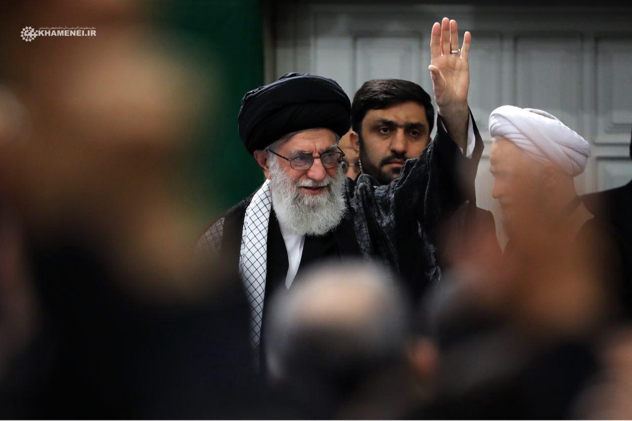 Photo of Arbaeen ceremony underway in Tehran in presence of Leader of Islamic Ummah Imam Sayyed Ali Khamenei