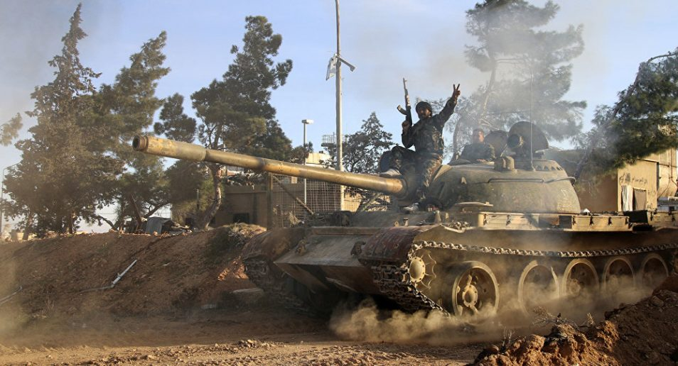 Photo of Syrian Army moves masses of tanks, artillery, troops for Daraa offensive