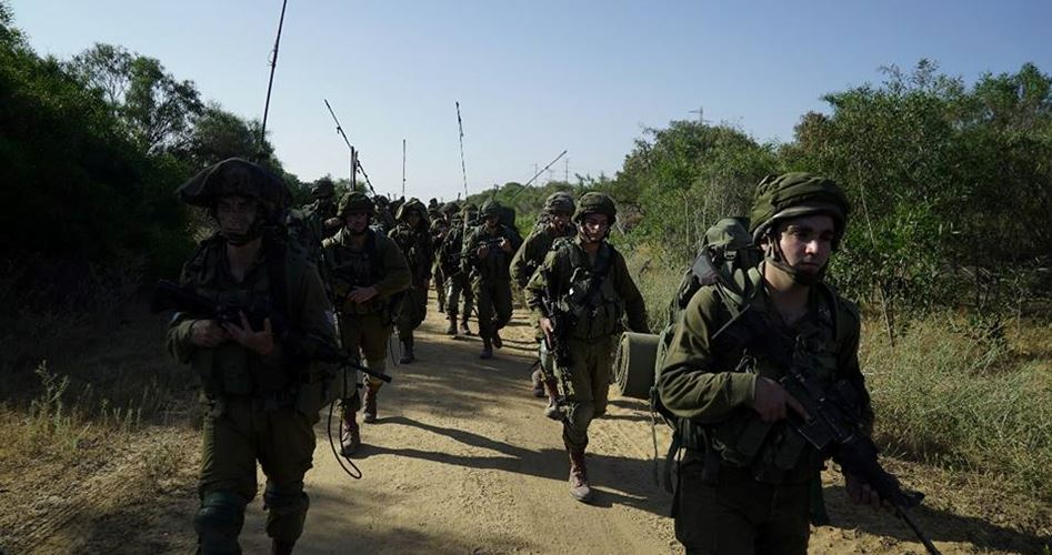 Photo of Israeli army launches military drills near Gaza borders
