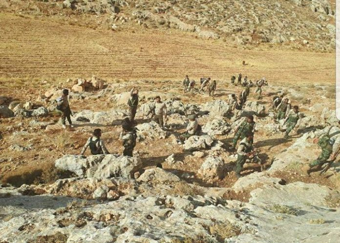 Photo of Syrian Army advances on rebel-held bastion near Israel-Lebanon border