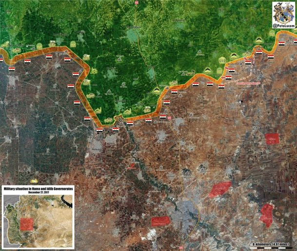 Photo of Terrorists loss keep rising as Syrian Army approaches strategic town in Idlib – map