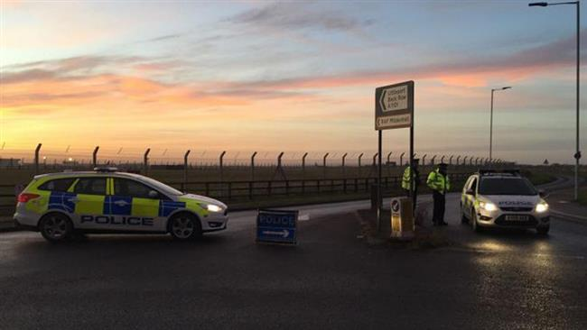 Photo of US base in UK on alert as car attempts to ram checkpoint