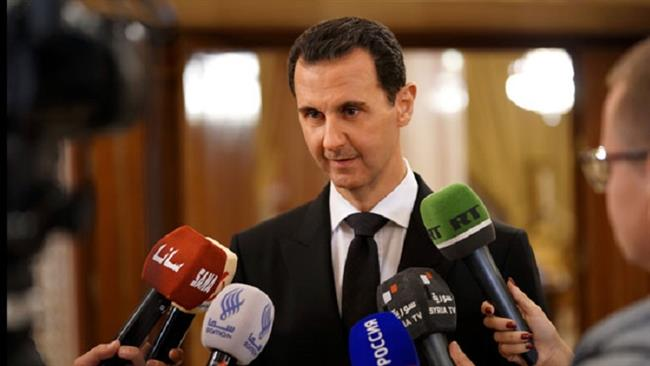 Photo of US-backed Kurdish armed militants 'traitors' to Syria: President Assad