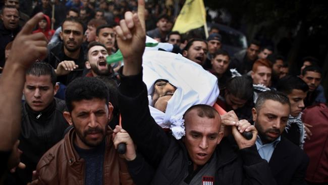Photo of Funeral held for Palestinian killed by Israeli troops during clashes in Gaza