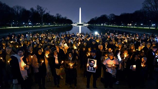 Photo of Vigil held for Iranian-American man fatally shot by US police