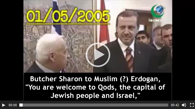 Photo of WATCH| Erdogan recognised Qods as Capital of Israel on 1/5/2005