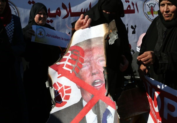 Photo of Gazans Protest US Decision to Recognize Quds as Israeli Capital
