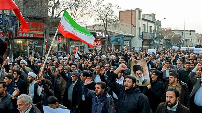 Photo of Millions of Iranians hold nationwide rallies to denounce riots, back Islamic establishment
