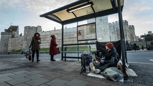 Photo of Homeless clampdown ahead of UK royal wedding sparks indignation