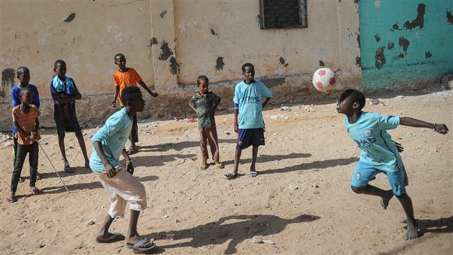 Photo of Somalia's Shabab militants forcing civilians to hand over children