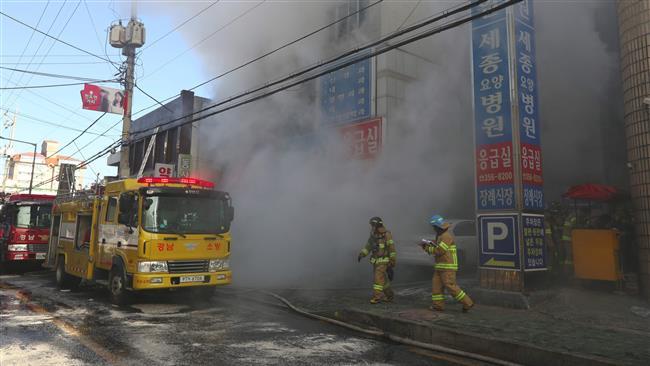 Photo of 41 dead in South Korea hospital blaze: Yonhap