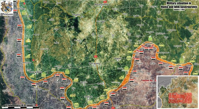 Photo of Syrian Army captures over 50km2 of territory in 24 hours – map