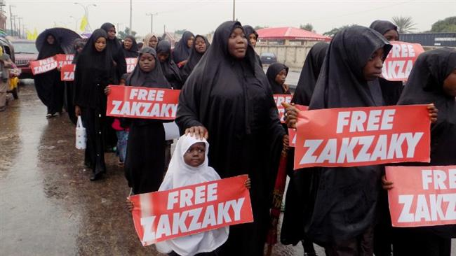 Photo of Zionist Nigerian regime attacks peaceful Sheikh Zakzaky protesters, one killed