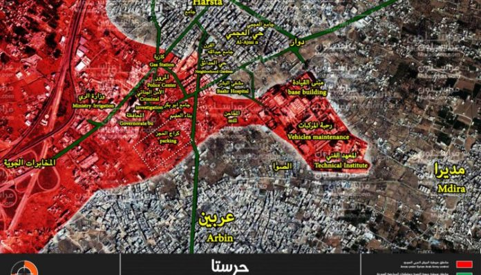 Photo of Syrian Army prepares to launch big offensive in east Damascus – map