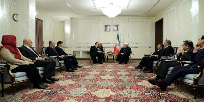 Photo of Rouhani: Iran Will Continue Backing Syria till Victory over Terrorism is Achieved