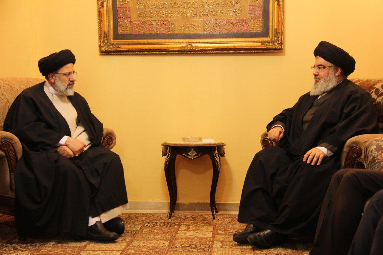 Photo of Imam Reza Shrine chairmen meets Sayyed Nasrallah