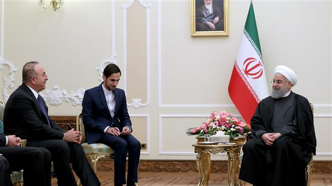 Photo of No country should feel threatened by its neighbors, Rouhani tells Turkish FM