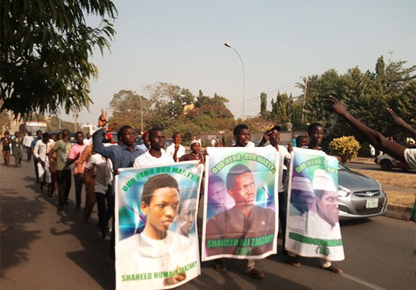 Photo of Photos- More Nigerian Protesters Call for Release of Sheikh Zakzaky