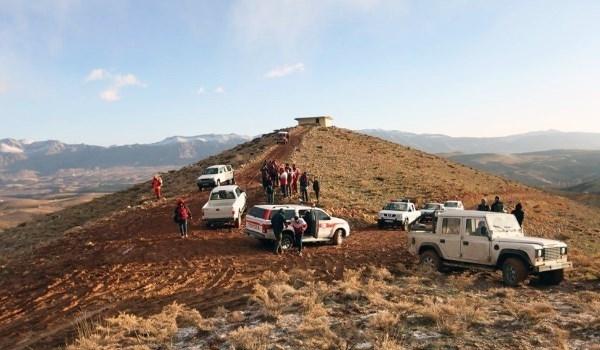 Photo of IRCS Preparing to Transfer Bodies of Passengers Killed in Iran Plane Crash